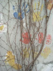 Murales Libreria fatto da Felice Pignataro dei Gridas