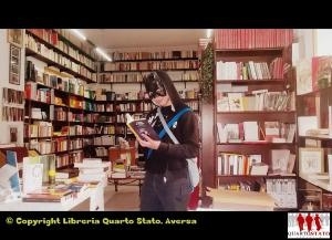 Batman in libreria logo